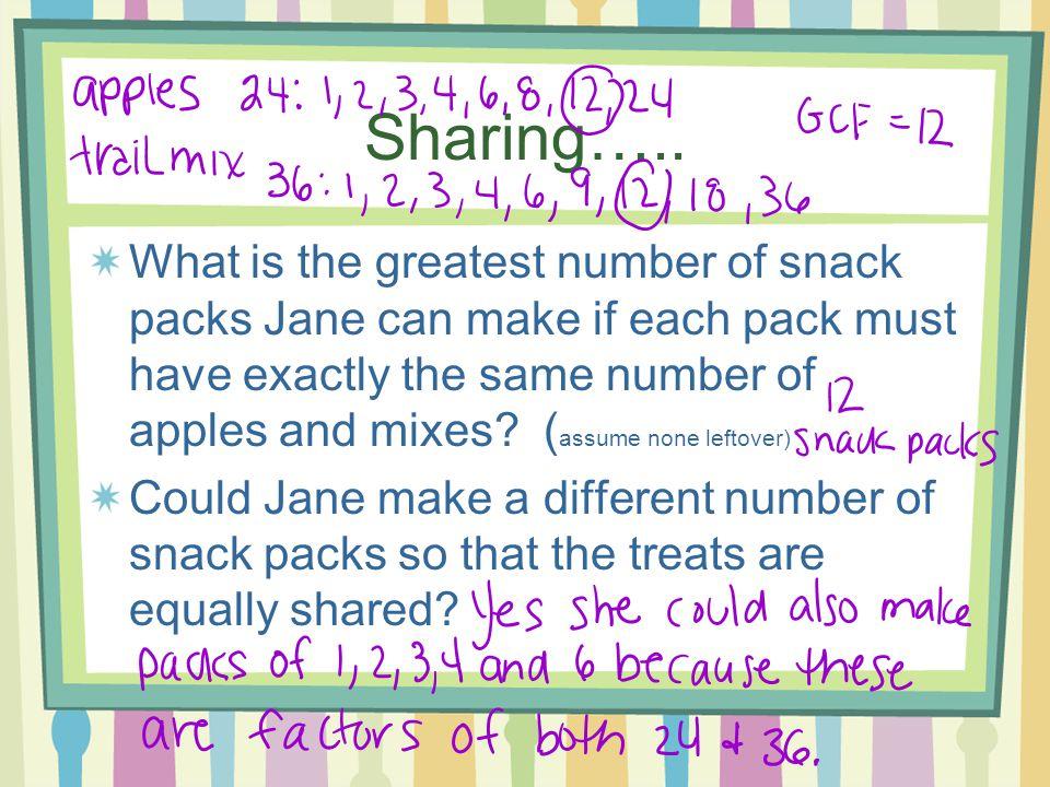 Sharing…..