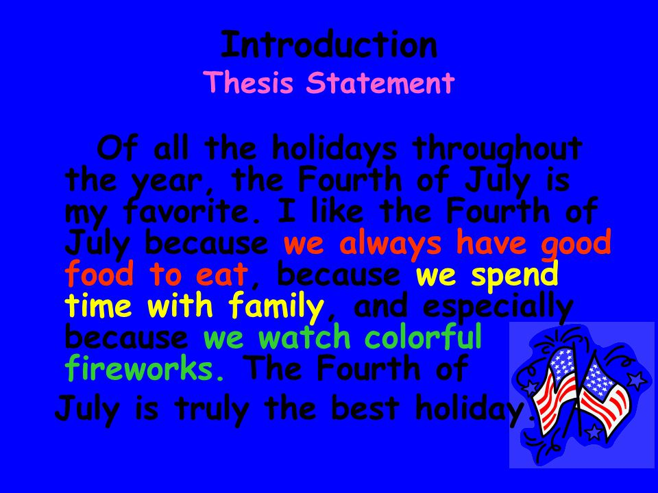 Don't know what to write about? Use the Thesis Statement to help you write about Anything!