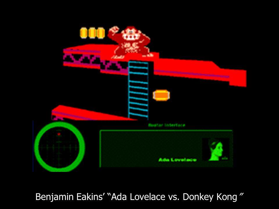 Benjamin Eakins' Ada Lovelace vs. Donkey Kong