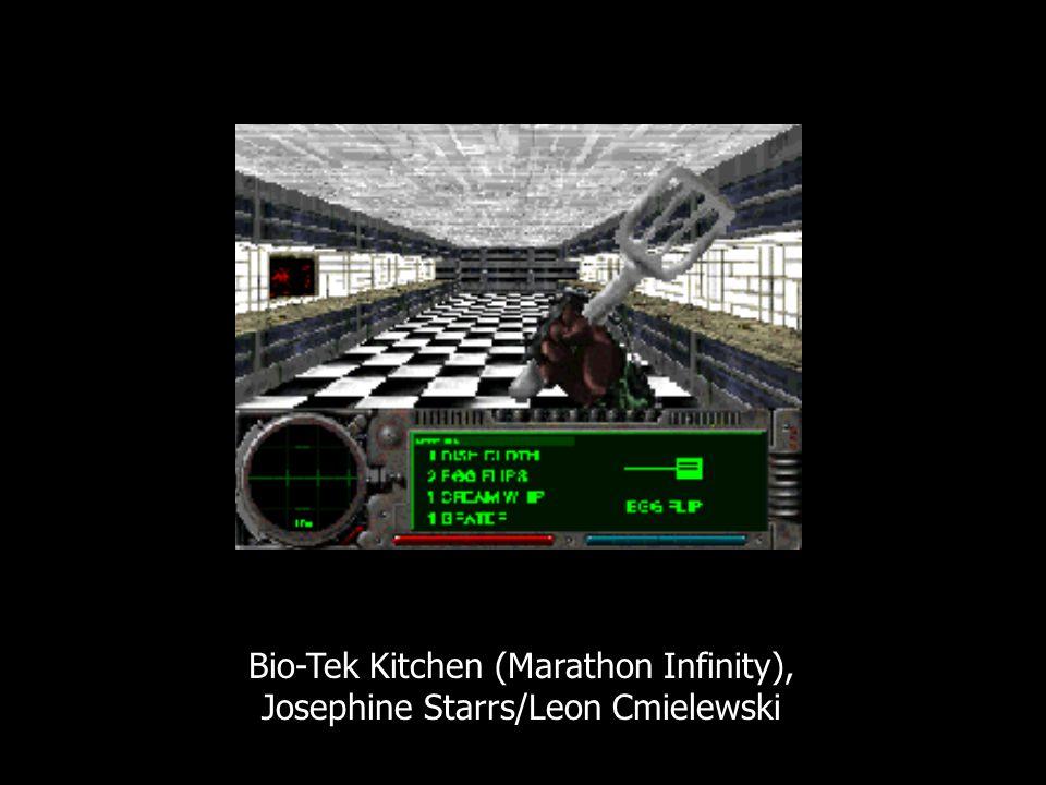 Bio-Tek Kitchen (Marathon Infinity), Josephine Starrs/Leon Cmielewski