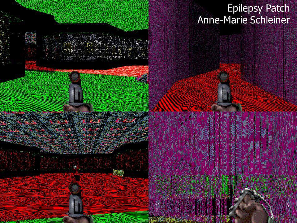 Epilepsy Patch Anne-Marie Schleiner