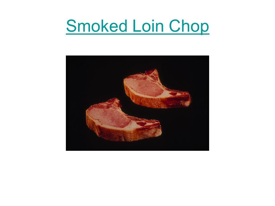 Smoked Loin Chop