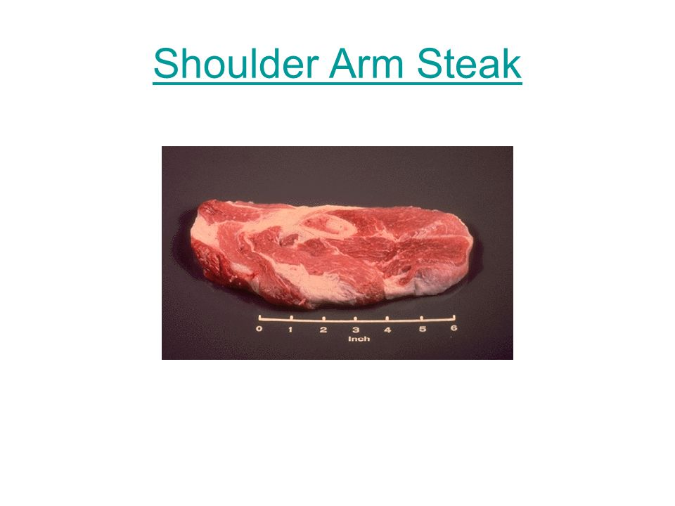 Shoulder Arm Steak
