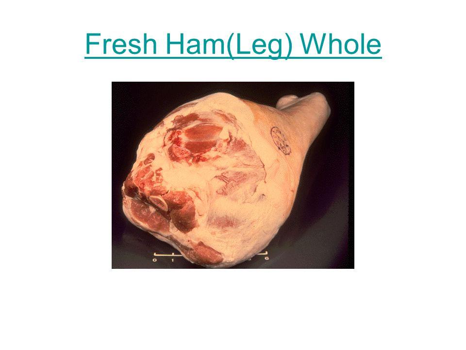 Fresh Ham(Leg) Center Slice