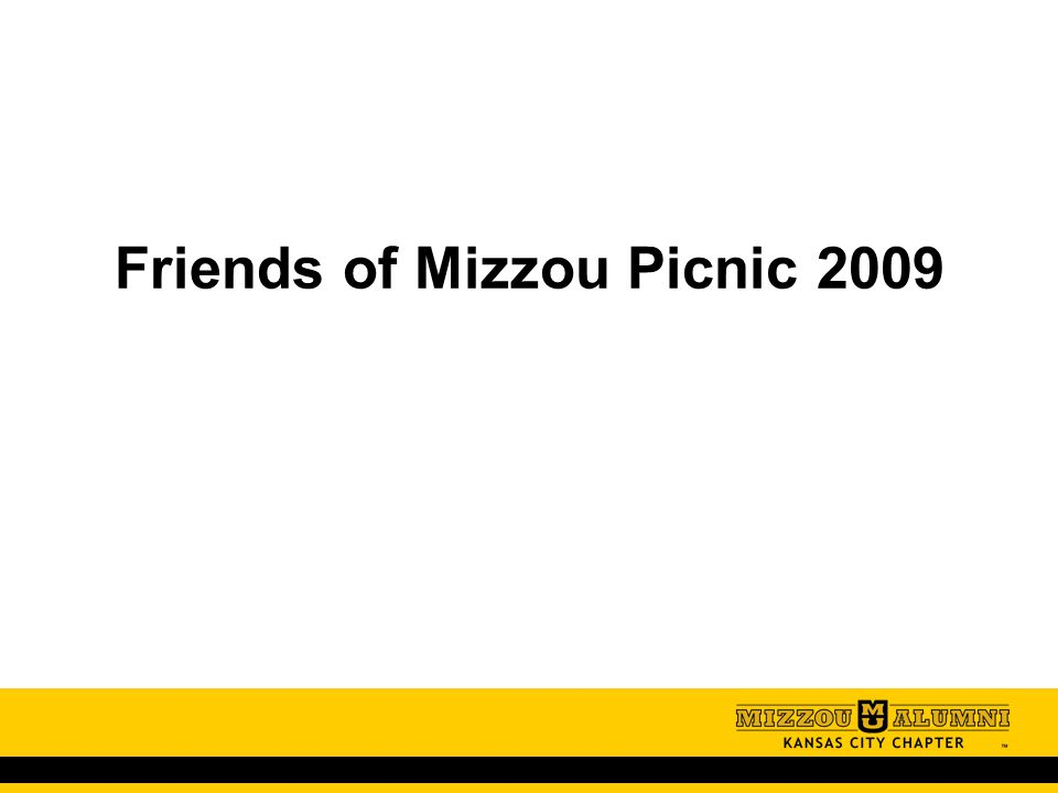 Friends of Mizzou Picnic 2009