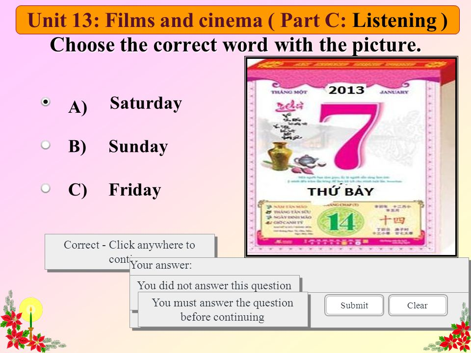 Task 3.Listen again and decide whether the following statements are true(T) or false(F).