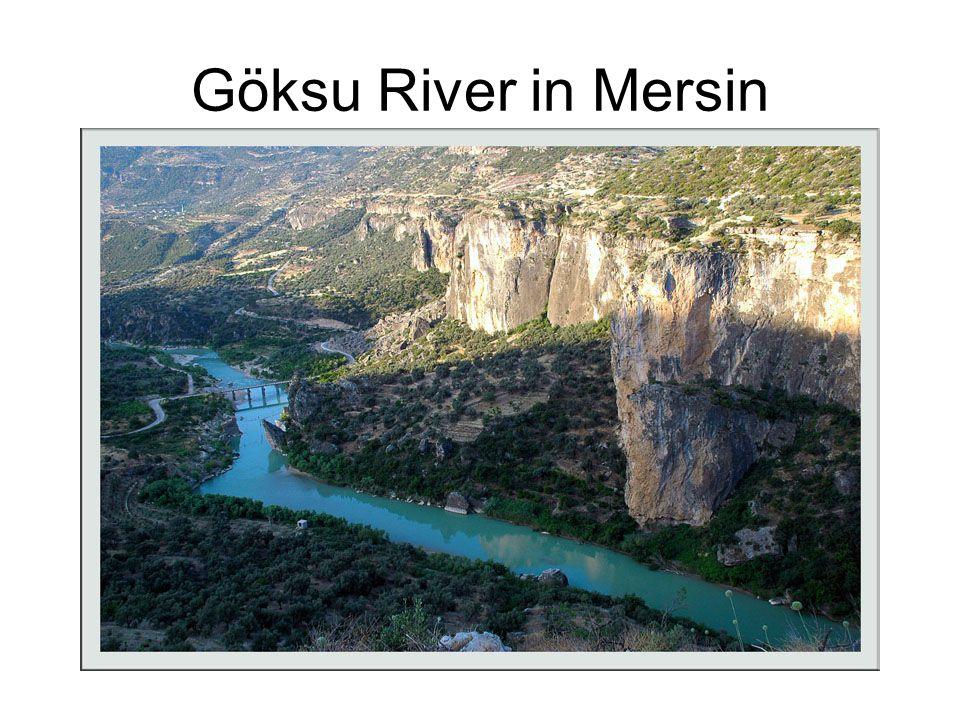 Göksu River in Mersin