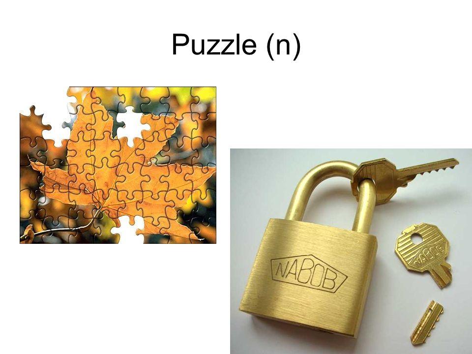 Puzzle (n)