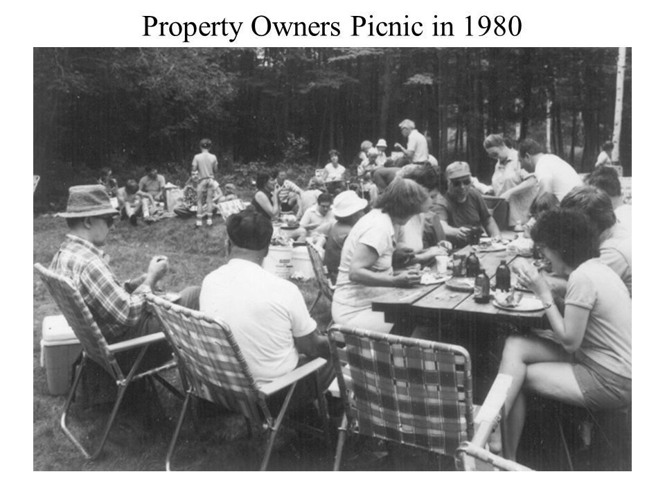 Property Owners Picnic in 1980