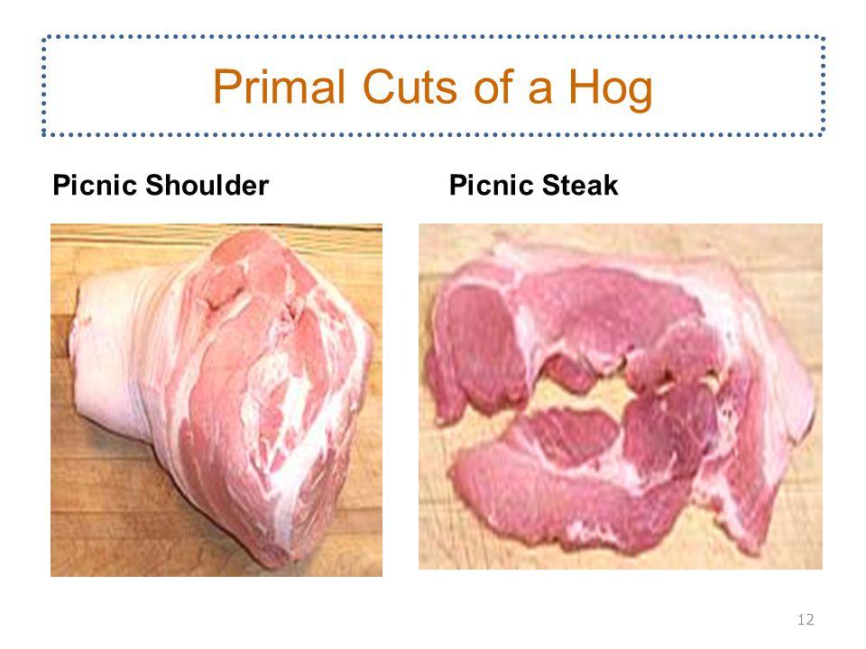 Picnic ShoulderPicnic Steak 12