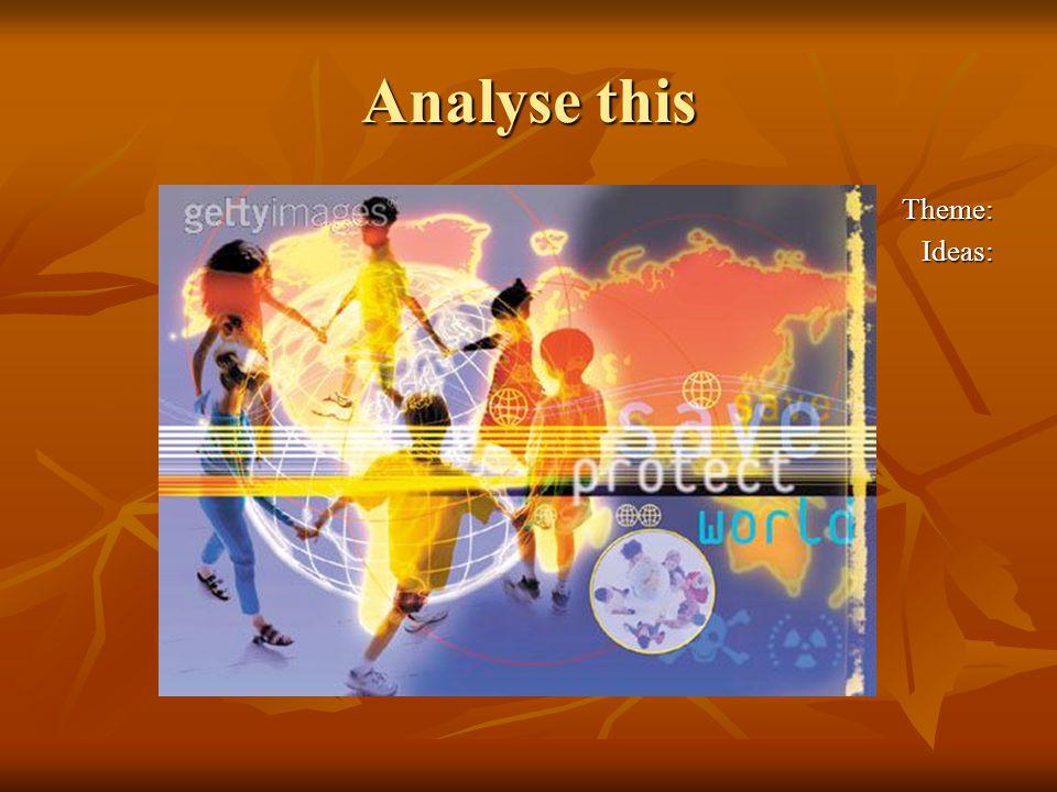 Collage plus theme word Theme: Big world Theme: Big world Ideas: Ideas: