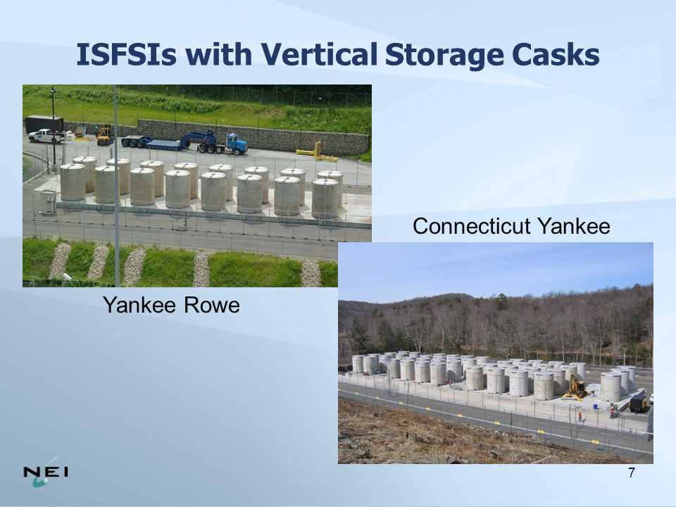 8 Horizontal Storage Systems at an ISFSI Picnic/ Lunch Area Southern California Edison – SONGS Units 1, 2, and 3