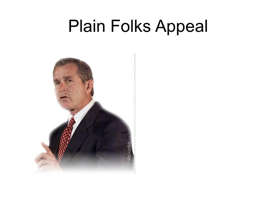 Plain Folks Appeal
