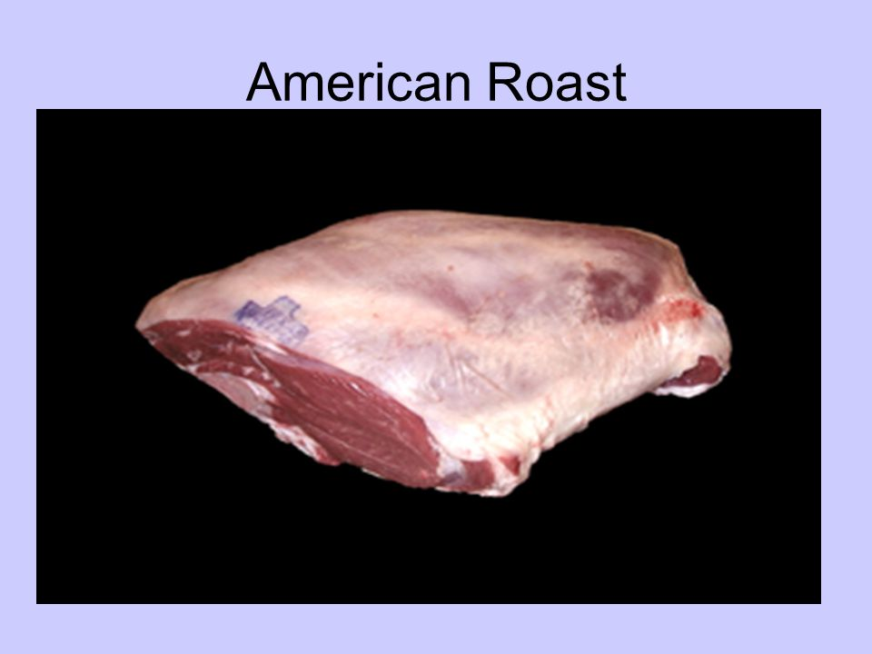 American Style Roast Species – –Lamb Primal Cut – –Leg