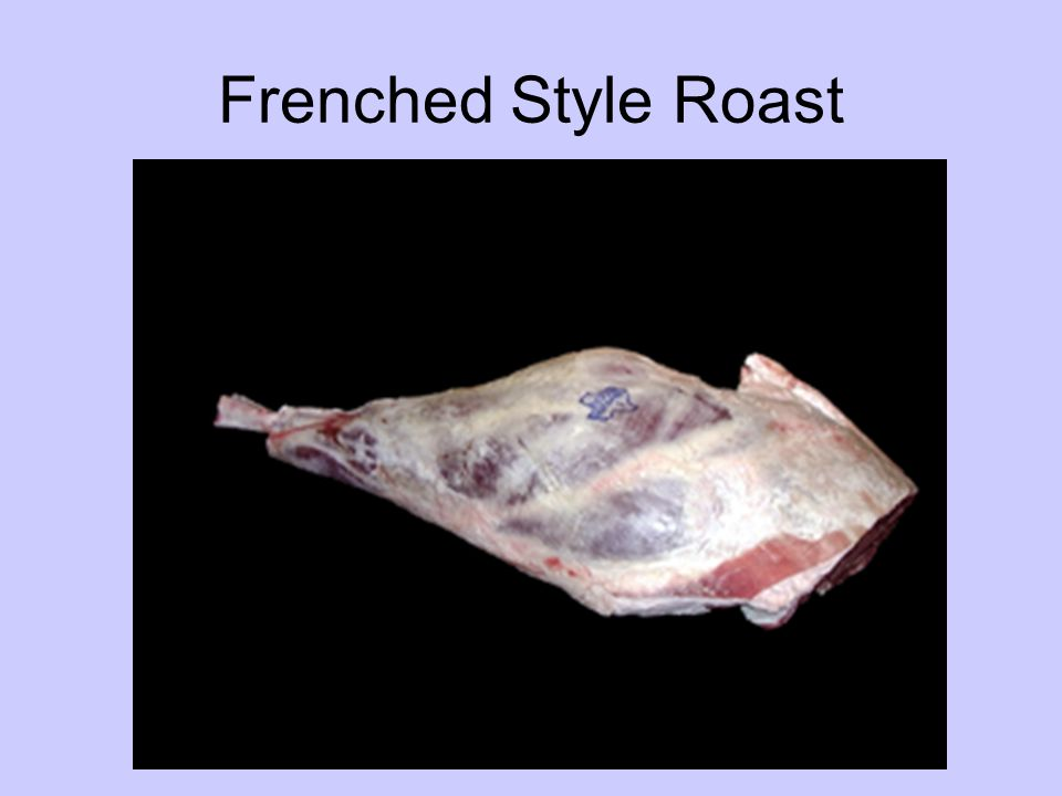 Frenched Style Roast