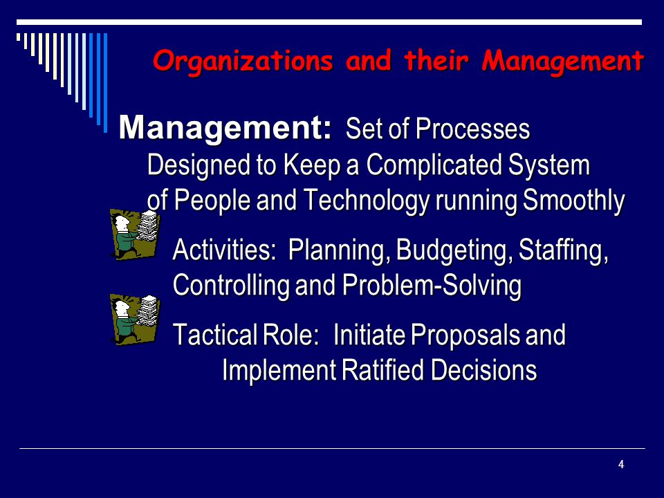 3 Organizations and their Management The Language: Key Terms  Management  Governance  Leadership  Organization