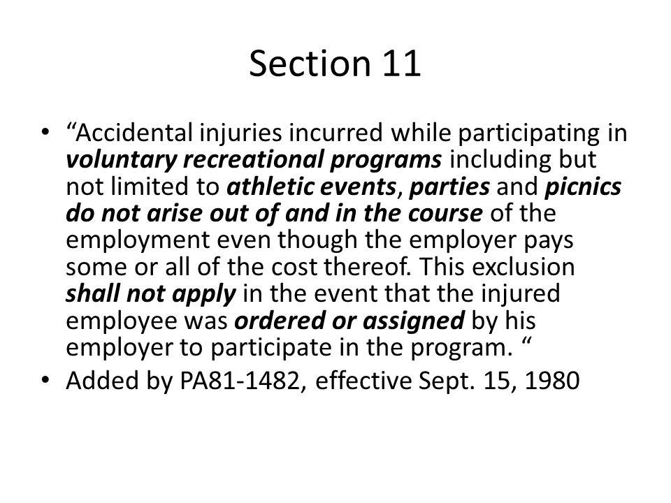 Section 11 Cases Fischer v.