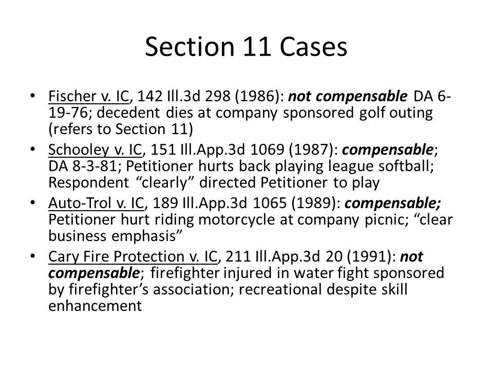Section 11 Cases Kozak v.