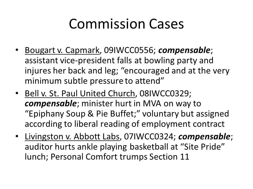 Commission Cases Bougart v.
