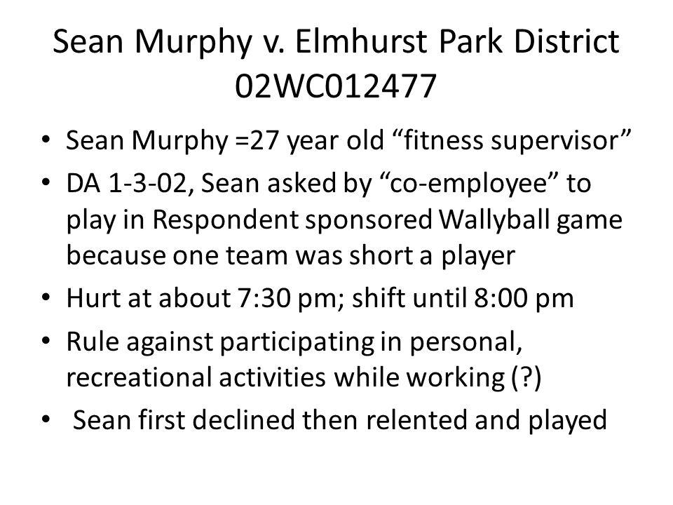 Sean Murphy v.
