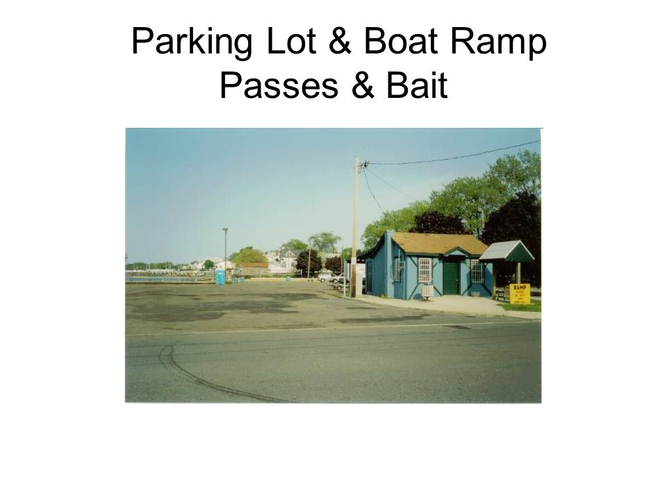 Parking Lot & Boat Ramp Passes & Bait
