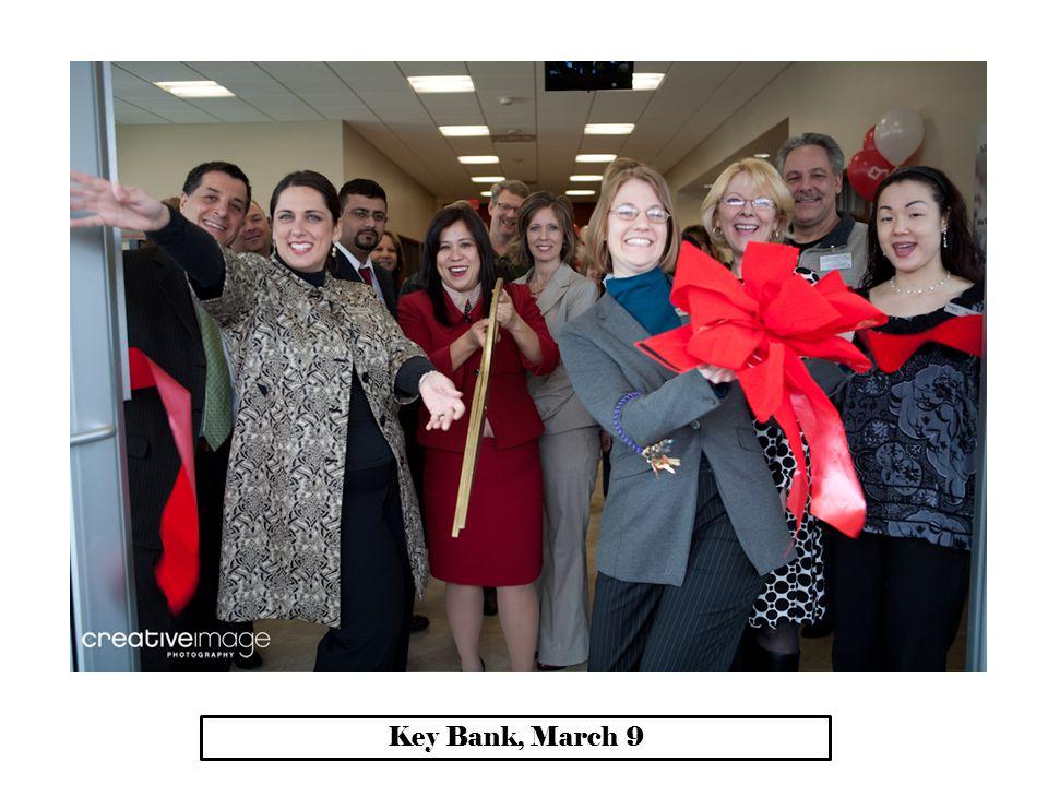 Key Bank, March 9