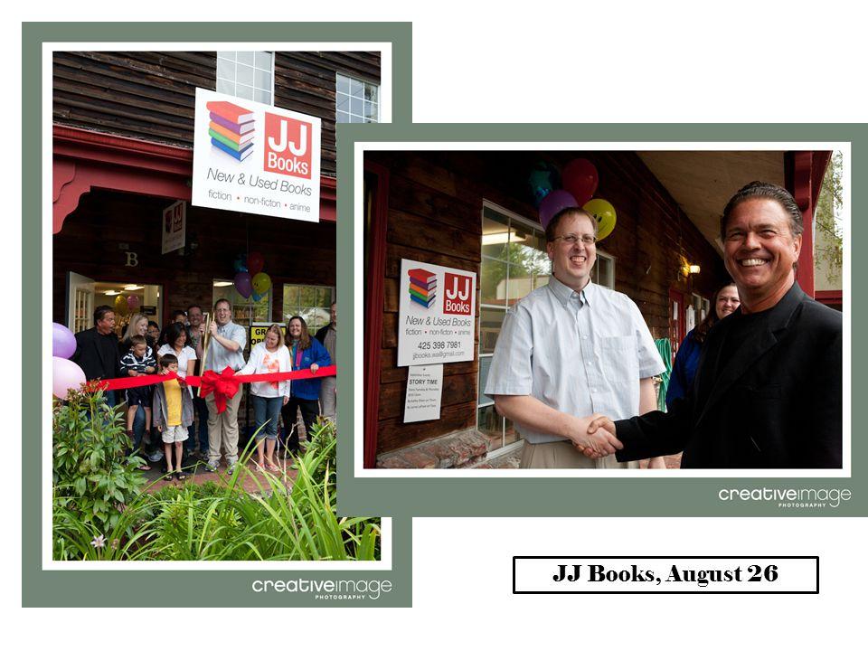 JJ Books, August 26