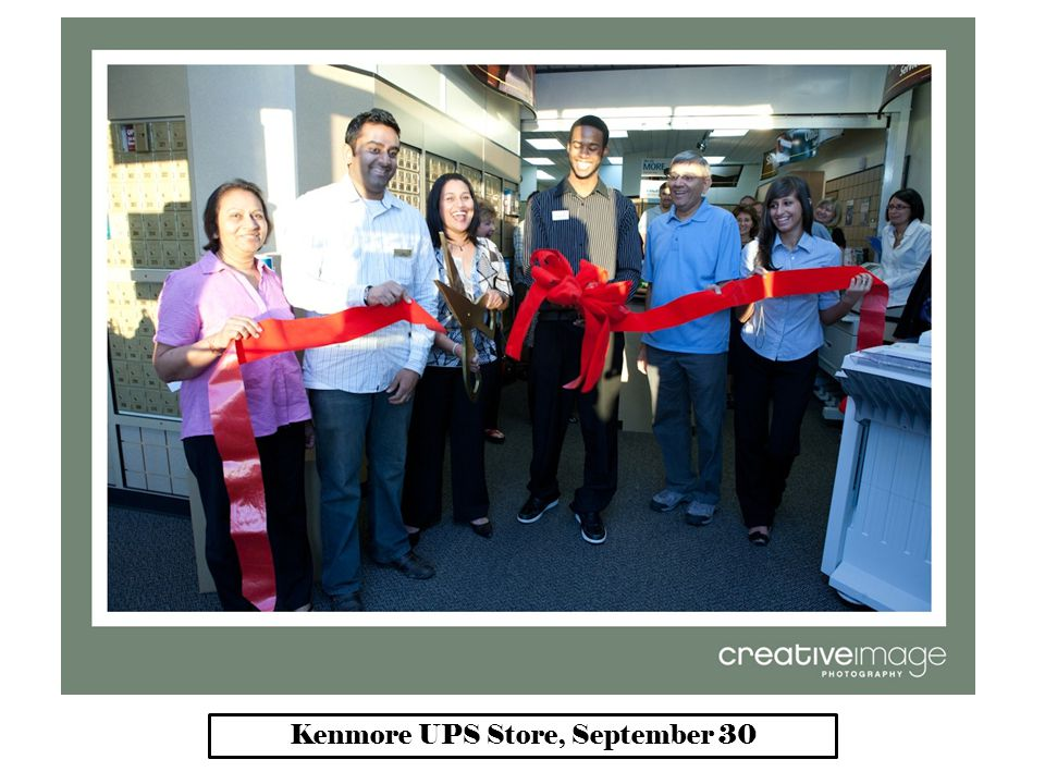 Kenmore UPS Store, September 30