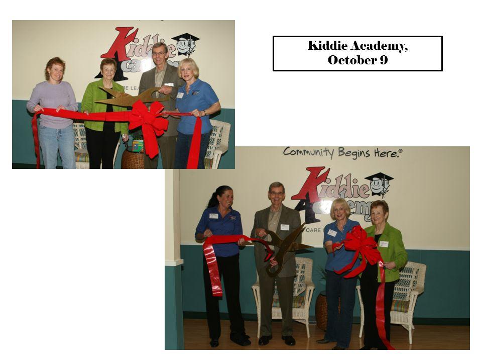 Kiddie Academy, October 9