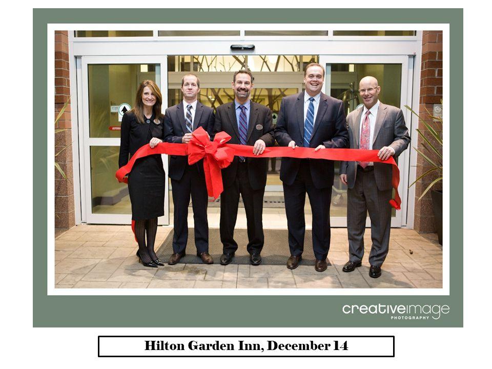 Hilton Garden Inn, December 14