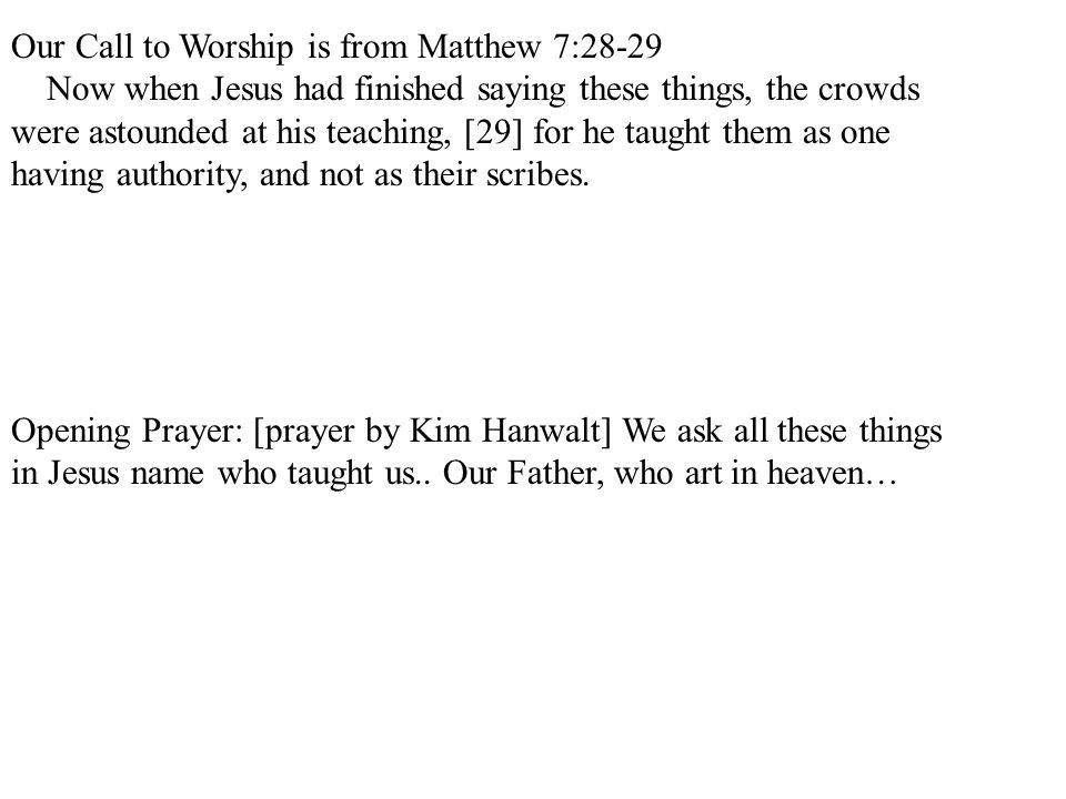 Luke 4:31-37 p.