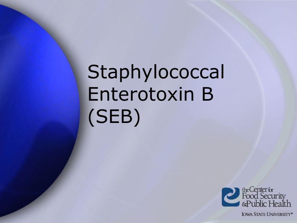 Staphylococcal Enterotoxin B (SEB)