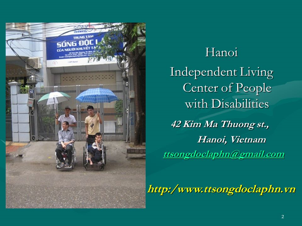 Public assistance system in Vietnam Viet Nam does not have Public Personal Assistance System for people with severe disabilities living in community, just 156 institutions nationwide.Viet Nam does not have Public Personal Assistance System for people with severe disabilities living in community, just 156 institutions nationwide.