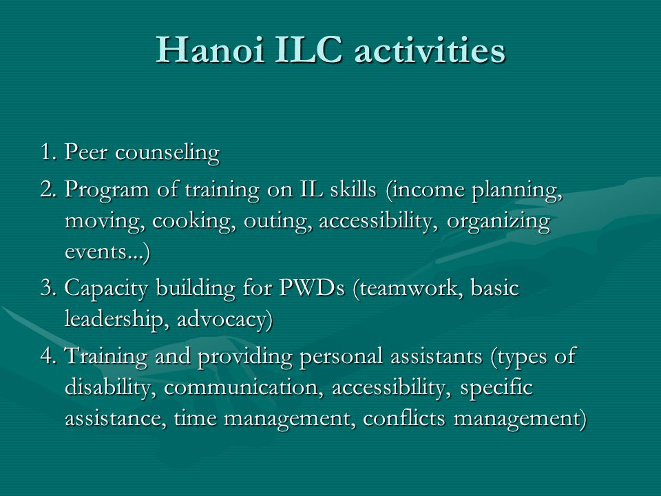 Hanoi ILC activities 5.