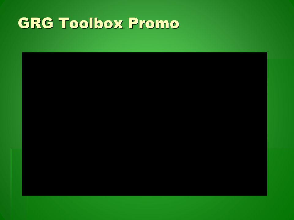 GRG Toolbox Promo