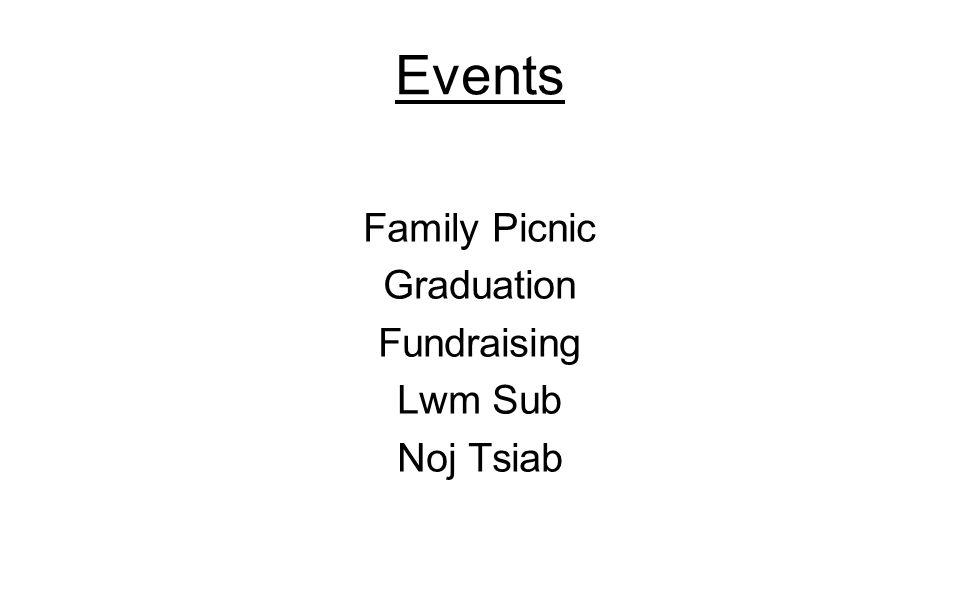 Events Family Picnic Graduation Fundraising Lwm Sub Noj Tsiab