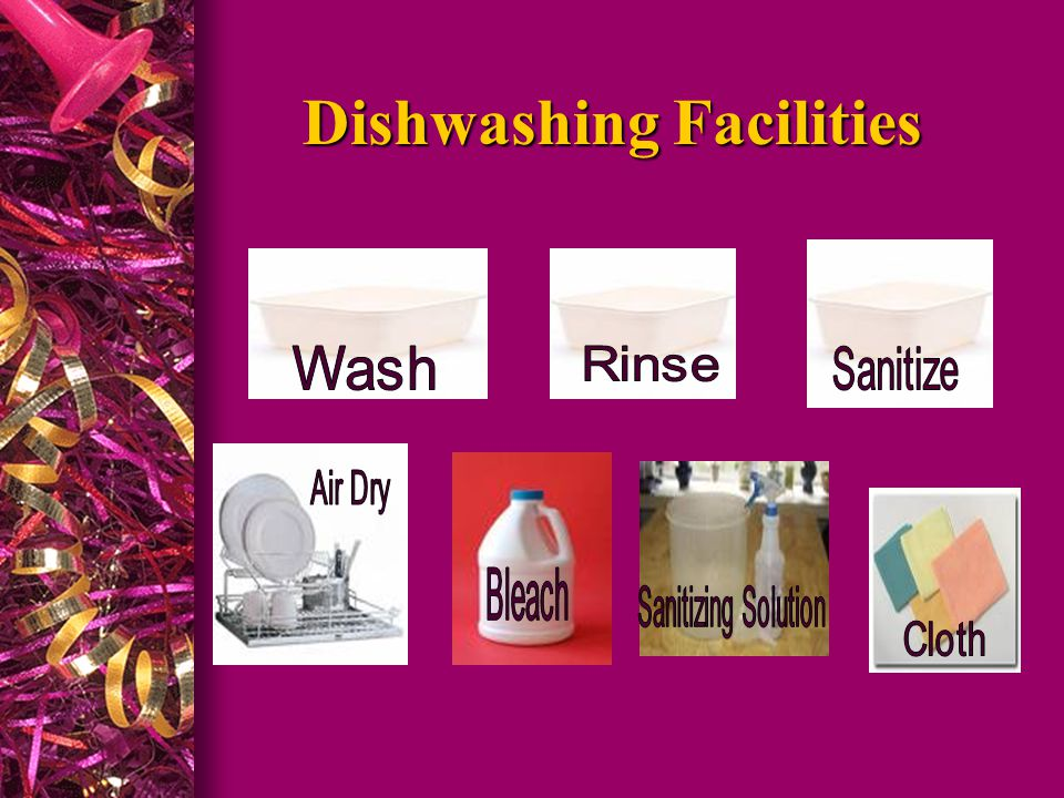 Handwashing Facilities