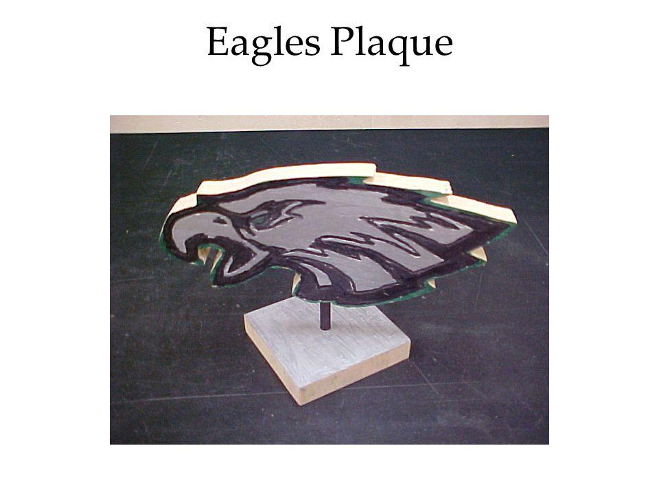 Eagles Plaque