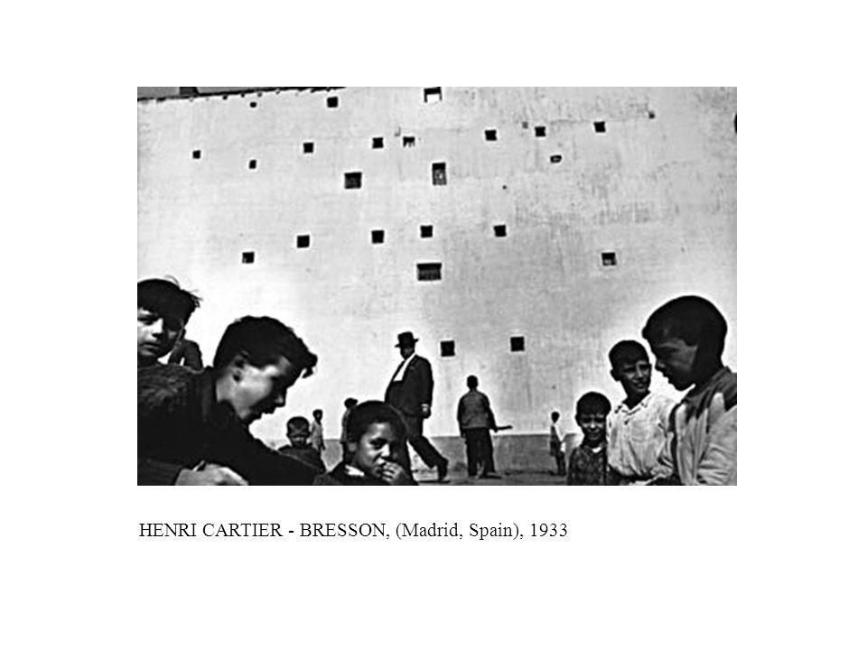 HENRI CARTIER - BRESSON, (Madrid, Spain), 1933