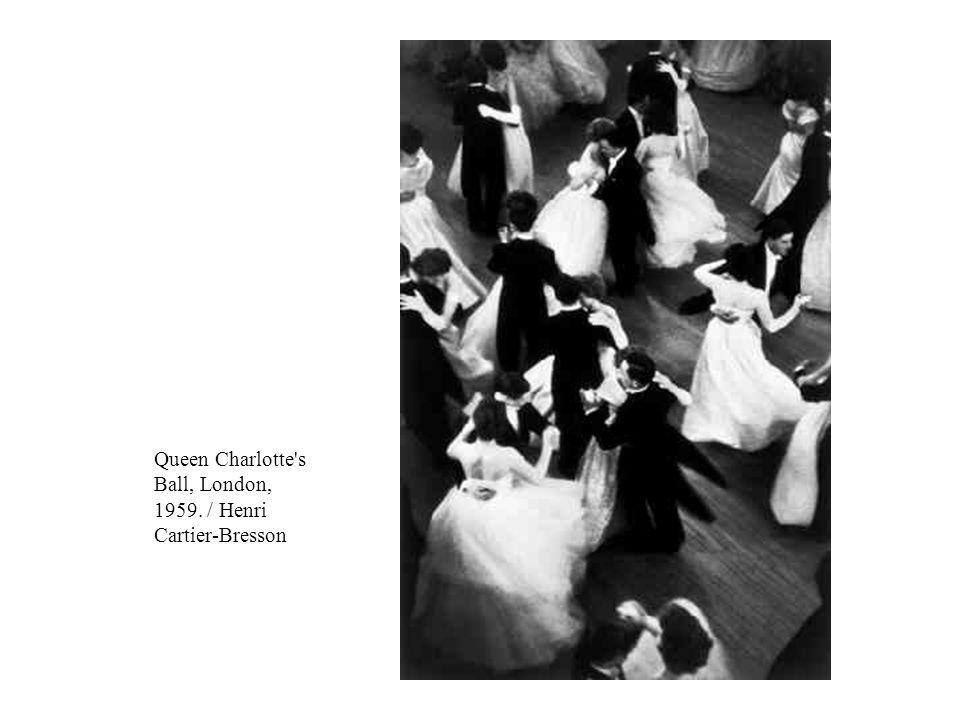 Queen Charlotte s Ball, London, 1959. / Henri Cartier-Bresson