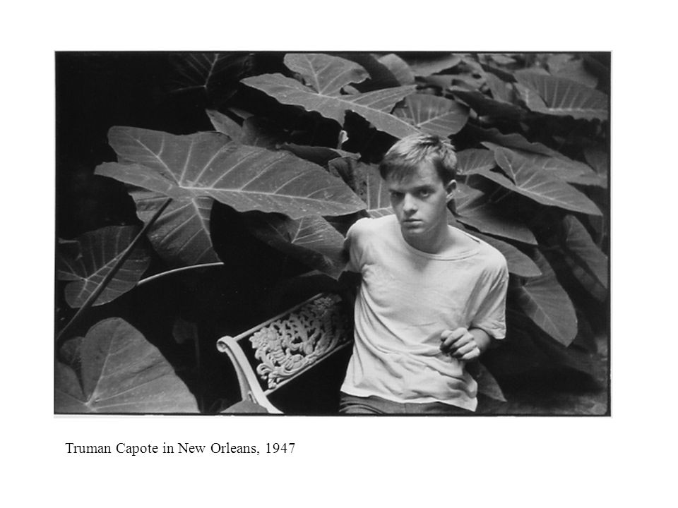 Truman Capote in New Orleans, 1947