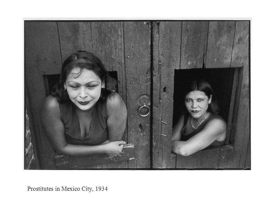 Prostitutes in Mexico City, 1934