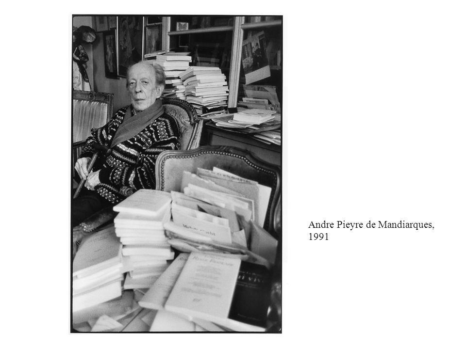 Andre Pieyre de Mandiarques, 1991