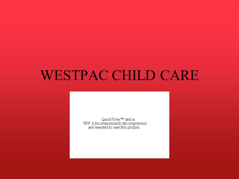 WESTPAC CHILD CARE