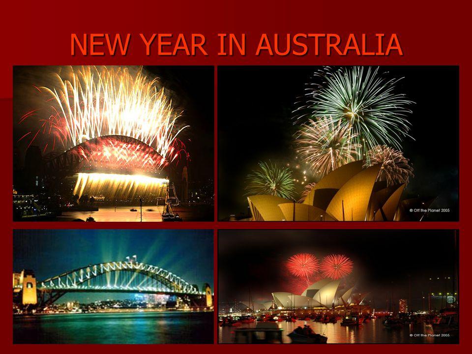 NEW YEAR IN AUSTRALIA