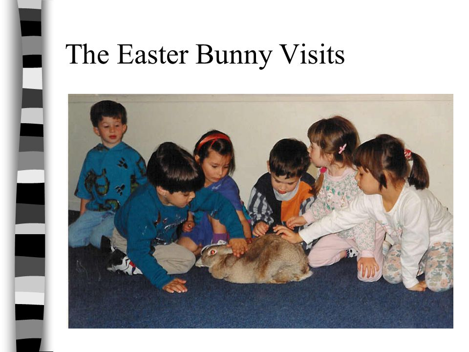 The Easter Bunny Visits