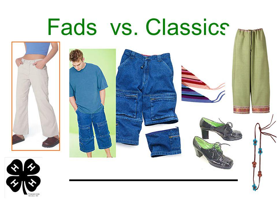 Fads vs. Classics