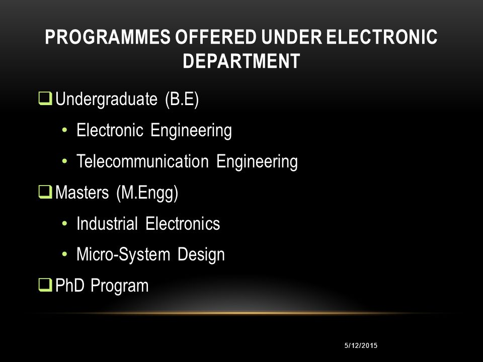 5/12/2015 Teaching DepartmentResearch Centre DIVISIONS OF ELECTRONIC ENGINEERING DEPARTMENT