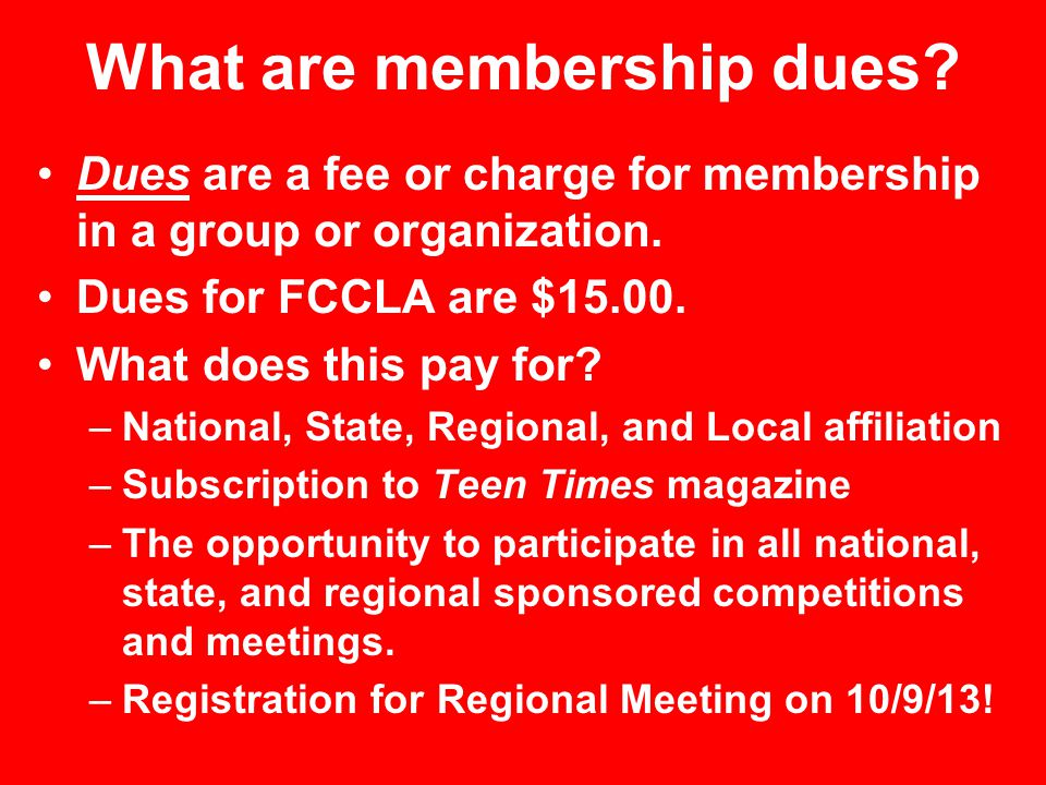 What are the benefits of joining FCCLA.A benefit is an advantage.