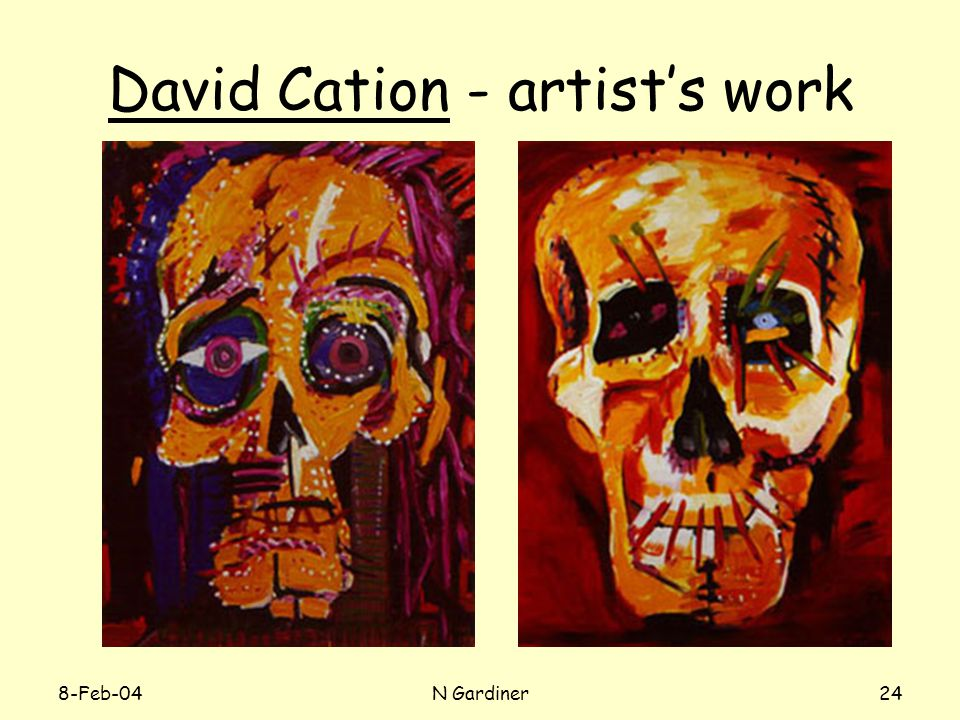 8-Feb-04N Gardiner24 David Cation - artist's work